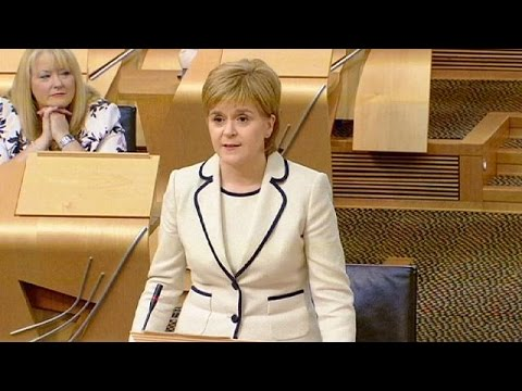 'Scotland's voice will be heard' - Sturgeon vows to fight to maintain EU ties