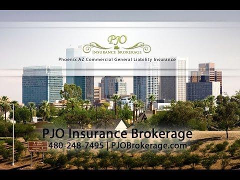 Phoenix Commercial General Liability Insurance By PJO Brokerage