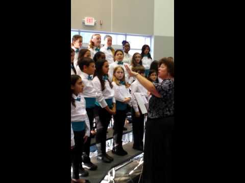 Embassy Creek Elementary school choir perform