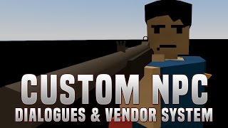 Custom NPC Tutorial #2 - Dialogues & Vendor System (Unturned)