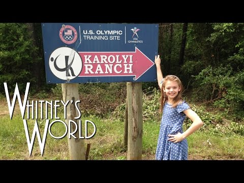 Whitney Heads to the U.S. Olympic Training Site | Karolyi Ranch