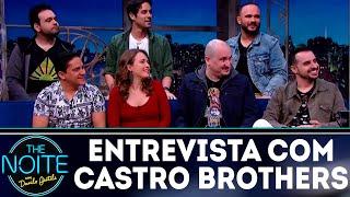 Entrevista com Castro Brothers   The Noite (16/07/18)