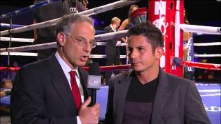 Mauricio Herrera on Danny Garcia and Next Fight on Showtime - ShoBox 6/6/14