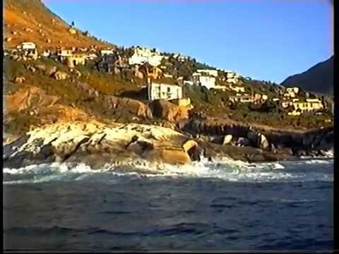 Trip to South Africa 3 - Sailing along the Cape Town coastal area.