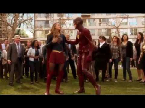 Supergirl and The Flash - You Belong with Me Music Video - Taylor Swift