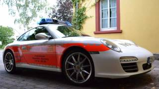 MOST FAST Emergency Car in GERMANY! Closer Look!