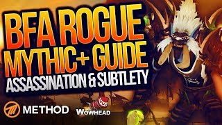Rogue Mythic+ PVE Guide BFA Patch 8.0.1 (Best Talents, Stat Prio, Gear, Rotation) | Method Fragnance