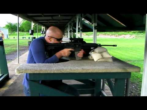 First Shots with New Bushmaster Carbon 15 O.R.C. Ultralight