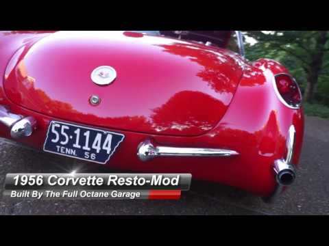 Project LS-56 - A 1956 Corvette by The Full Octane Garage
