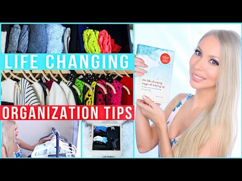 Life Changing Organization Tips! The KonMari Method