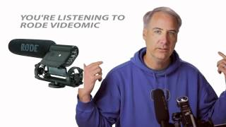 Zoom H1 vs Rode Videomic into Canon 5D Mark III
