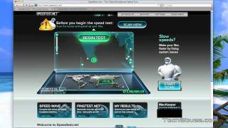 BSNL 3G network speed test Oct 2011