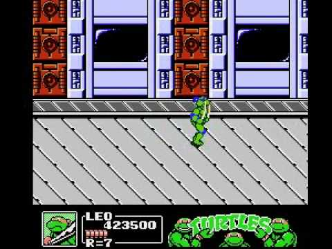 Misc Computer Games - Teenage Mutant Ninja Turtles 3 - The Manhattan Project Scene 6
