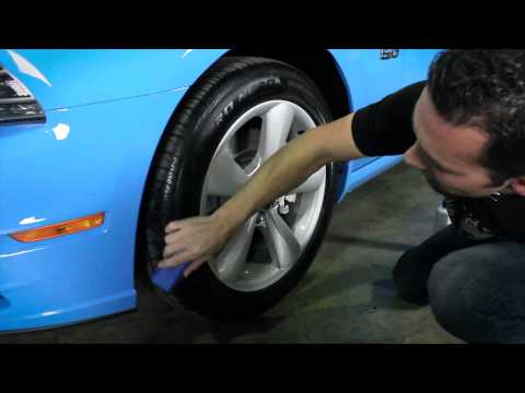 How to: Apply Tire Shine - Chemical Guys V.R.P. Dressing - Vinyl Rubber Plastic EPIC CAR CARE