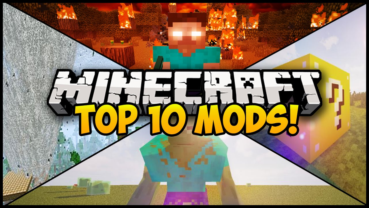TOP 10 MINECRAFT MODS FOR 1.7.10! (Minecraft 1.7.10 Mods