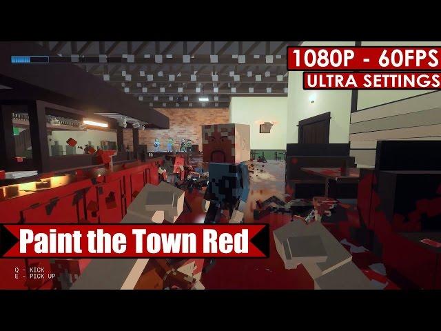 Руководство запуска: Paint the Town Red по сети
