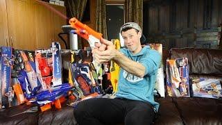 Unboxing Nerf Guns for Gun Game 2.0