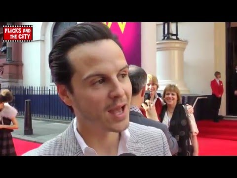 Andrew Scott Interview - Sherlock's Moriarty &  Doctor Who