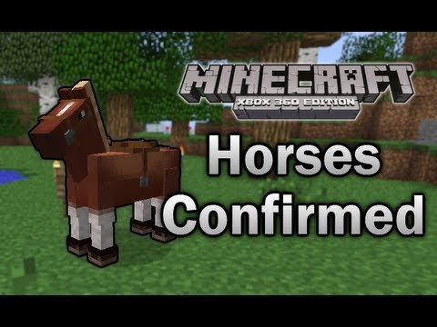 [Minecraft: Xbox 360] - Horses Confirmed!