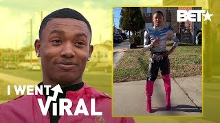 """Dremon """"Super B***h"""" Cooper Is a Superhero in Pink Thigh-High Boots! 