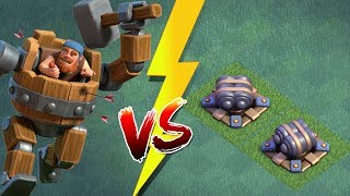 MAXED KAMPFMASCHINE vs DOPPELKANONEN! || CLASH OF CLANS || Let