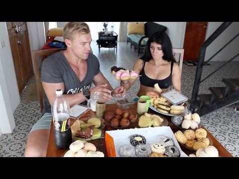 100 ПОНЧИКОВ ЗА РАЗ. CheatMeal Challenge. 100 Donuts. 25000 calories. FAIL.