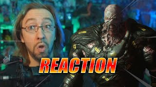 MAX REACTS: Nemesis running is SCARY AS HELL - Resident Evil 3 Remake Gameplay