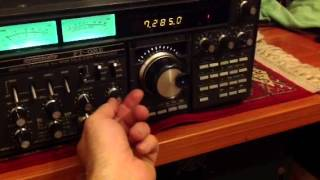 Yaesu ft-one in action