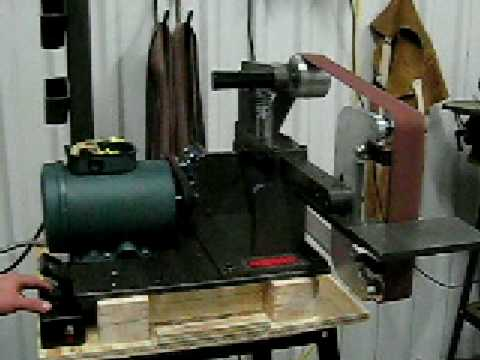 plans for homebuilt belt grinder