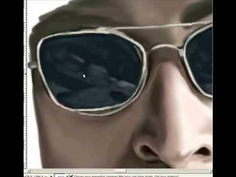 John Lennon - Imagine - speed painting