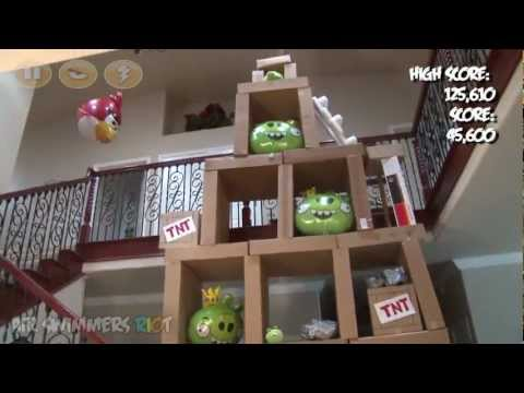 Angry Birds Air Swimmers Rc Riot! video