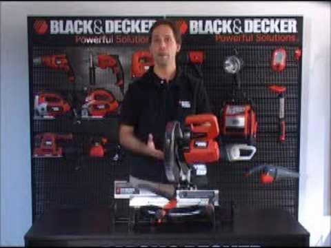Herramientas para todos TV - Demo sierra ingleteadora B & D
