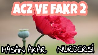 Acz ve Fakr -2