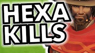 Best Hexakills - Overwatch Montage