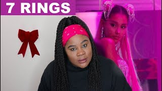 Ariana Grande - 7 Rings |REACTION|