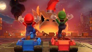 Mario Party 10 - Chaos Castle - Mario VS Luigi