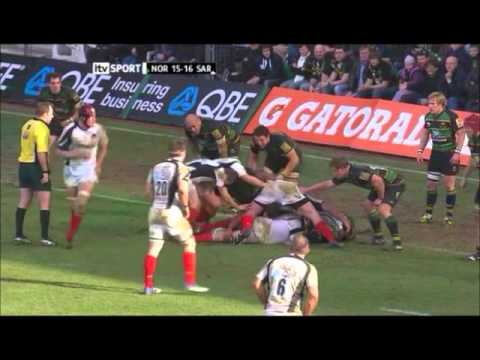 Northampton Saints v Saracens - Premiership 2010-11 - R14 - Northampton Saints v Saracens Rd 14 High