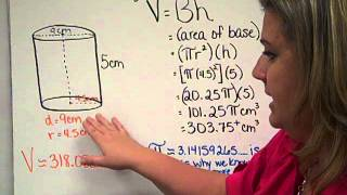 Volume Cylinder, Cone, Sphere