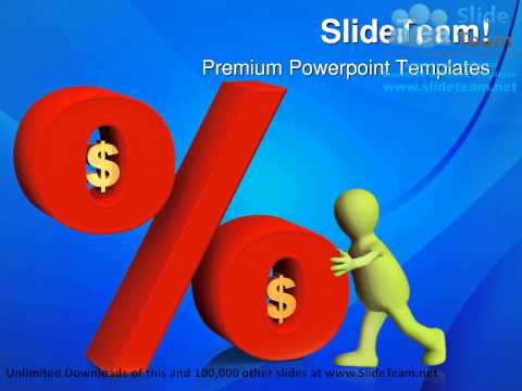 Percent In Dollars Money PowerPoint Templates Themes And Backgrounds Graphic designs
