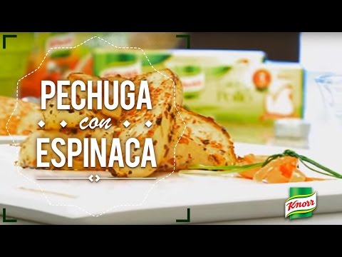 Pechuga con espinaca | Knorr®