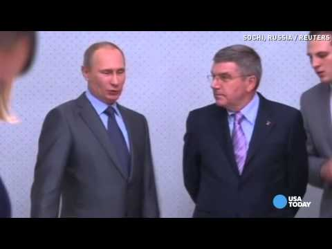 Putin: Gay people welcome at Sochi Olympic Games