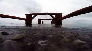 Сукко, море, пустой пляж. Обзорное видео.