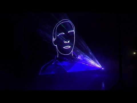 Лазерное шоу Курган 11.08.2017