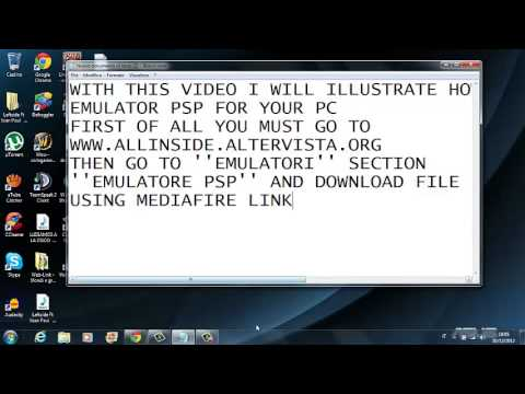 how to add emulators to psp