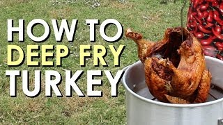 How to Deep Fry a Turkey | Art of Manliness