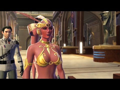 SWTOR - Twi'lek - Sith Inquisitor - Female - Dark Side - Part 6  -  Alderaan