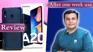Samsung A20 Review | After one week use | 🔥