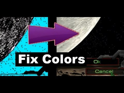 How to Fix Colors for Starcraft 1 and Brood War for Windows 7