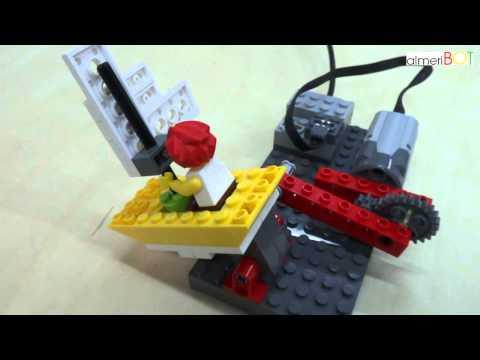 AlmeriBOT Studio. Lego WeDo. Tormenta En El Velero. SailBoat Storm