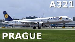 [FSX] PRAGUE LANDING (NEW SCENERY) - A321 LUFTHANSA